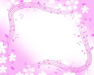 春の音楽の写真素材 [FYI00274625]