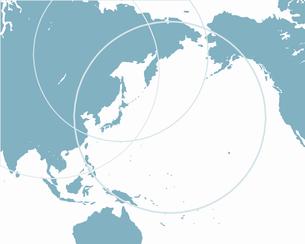 アジアの中の日本の写真素材 [FYI00274700]