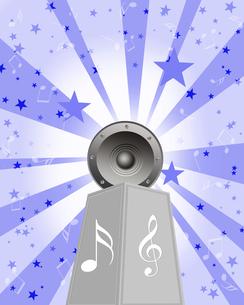 音楽を聴くの写真素材 [FYI00274729]