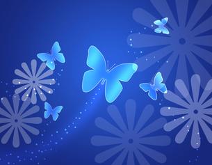 蝶と花の写真素材 [FYI00274733]