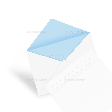 封筒と便箋の素材 [FYI00274811]