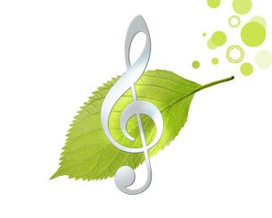 エコと音楽の写真素材 [FYI00274833]