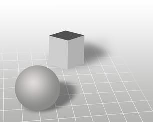 球体・立方体の写真素材 [FYI00274860]