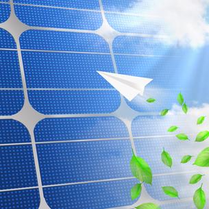 太陽光発電の写真素材 [FYI00274882]