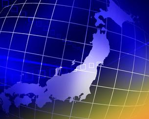日本地図の写真素材 [FYI00274887]