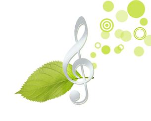 音楽とエコロジーの写真素材 [FYI00274890]
