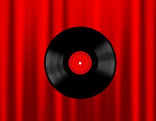 レコード盤の写真素材 [FYI00274940]
