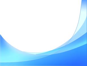 青のフレームの写真素材 [FYI00274957]