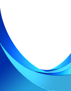 青のフレームの写真素材 [FYI00274960]