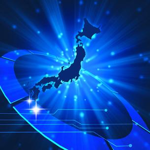 ネットワーク日本の写真素材 [FYI00275101]