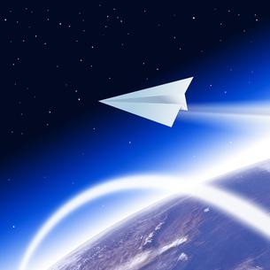 紙飛行機の写真素材 [FYI00275134]