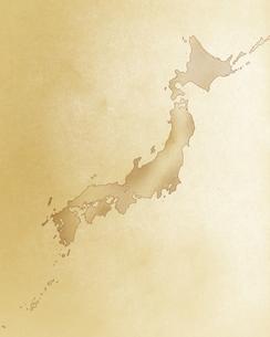 かすれた日本地図の素材 [FYI00275173]