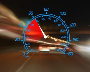 スピードメーターの写真素材 [FYI00275336]