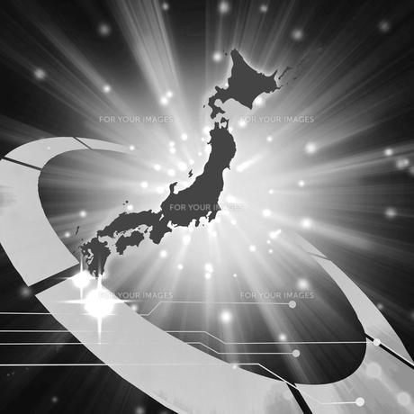 ネットワーク日本の写真素材 [FYI00275344]