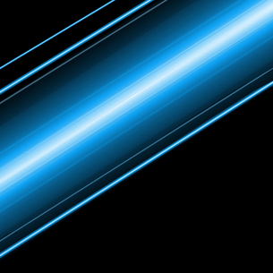 光りの帯の写真素材 [FYI00275405]