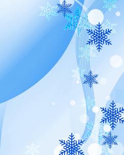 雪の結晶の写真素材 [FYI00275409]
