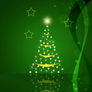 クリスマスツリーの写真素材 [FYI00275410]