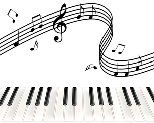 ピアノ演奏の写真素材 [FYI00275460]