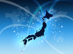 世界の中の日本の写真素材 [FYI00275481]
