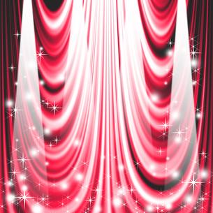 ステージカーテンの写真素材 [FYI00275531]