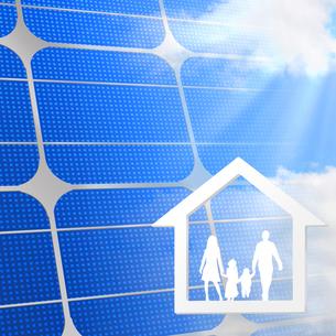 太陽光発電の写真素材 [FYI00275562]