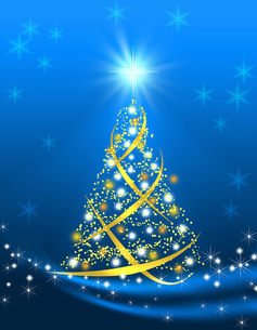 クリスマスツリーの写真素材 [FYI00275601]