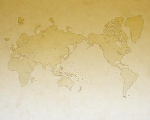 古い世界地図の写真素材 [FYI00275627]