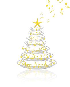 クリスマスツリーの写真素材 [FYI00275640]