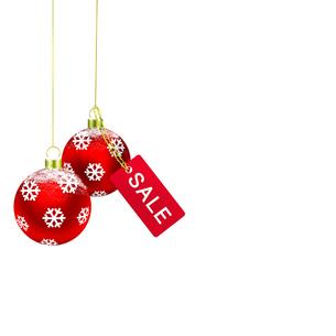 クリスマスセールの写真素材 [FYI00275643]
