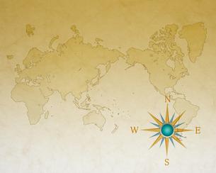 汚れた世界地図の写真素材 [FYI00275647]