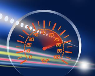 スピードメーターの写真素材 [FYI00275661]