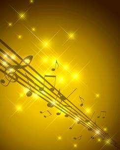 イルミネーションと音楽の写真素材 [FYI00275663]