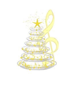 クリスマスキャロルの写真素材 [FYI00275712]
