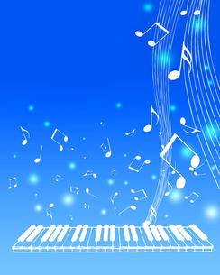 音楽の写真素材 [FYI00275716]