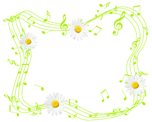 春の音楽の写真素材 [FYI00275754]