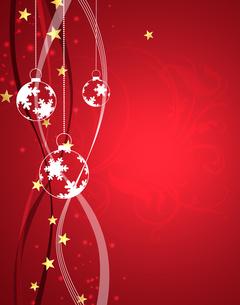 クリスマスボールの写真素材 [FYI00275767]