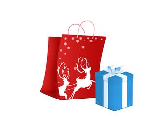 クリスマスプレゼントの写真素材 [FYI00275768]