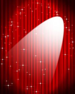ステージカーテンの写真素材 [FYI00275770]