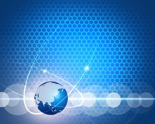 グローバルネットワークの写真素材 [FYI00275771]