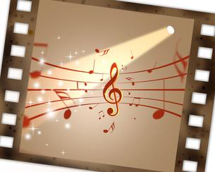 映画と音楽の写真素材 [FYI00275812]