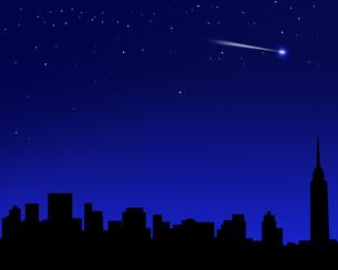 都会の星空の写真素材 [FYI00275841]