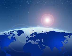 地球の写真素材 [FYI00275842]