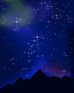 星空の写真素材 [FYI00275862]