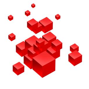 立方体の写真素材 [FYI00275903]