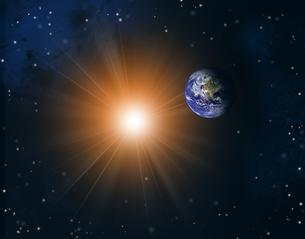 太陽系の写真素材 [FYI00275924]
