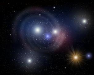 渦巻星雲の写真素材 [FYI00275926]
