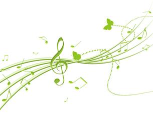 春の音楽の写真素材 [FYI00275932]