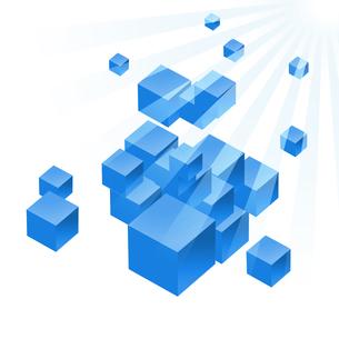 立方体の写真素材 [FYI00275942]