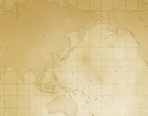 環太平洋地図の写真素材 [FYI00275949]