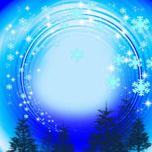 雪の結晶の写真素材 [FYI00275981]